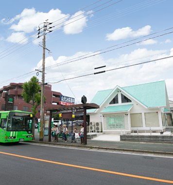 バス停周辺
